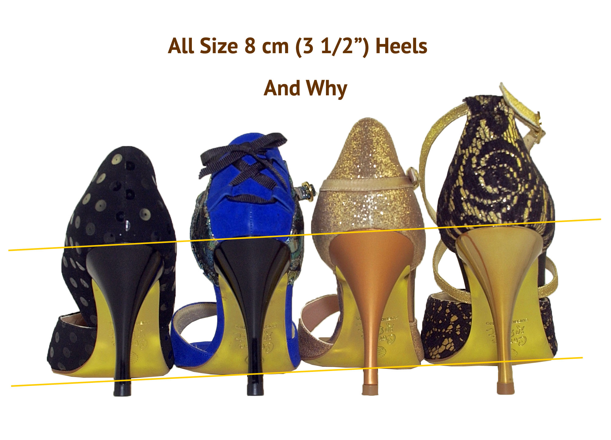 Heel Height by Size Photo