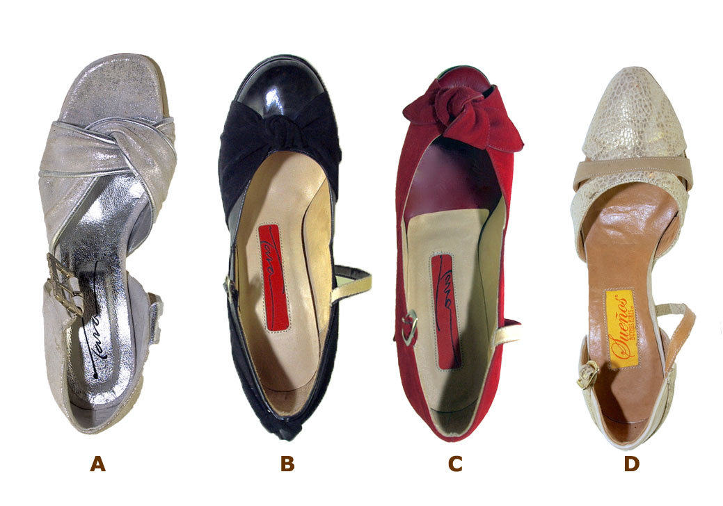 Womens Shoe Shapes
